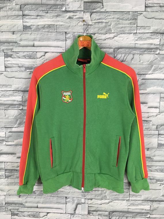593a1b45044b0 Vintage PUMA Sweatshirts Sweater Crop Small Ladies Puma Sport Cougar ...