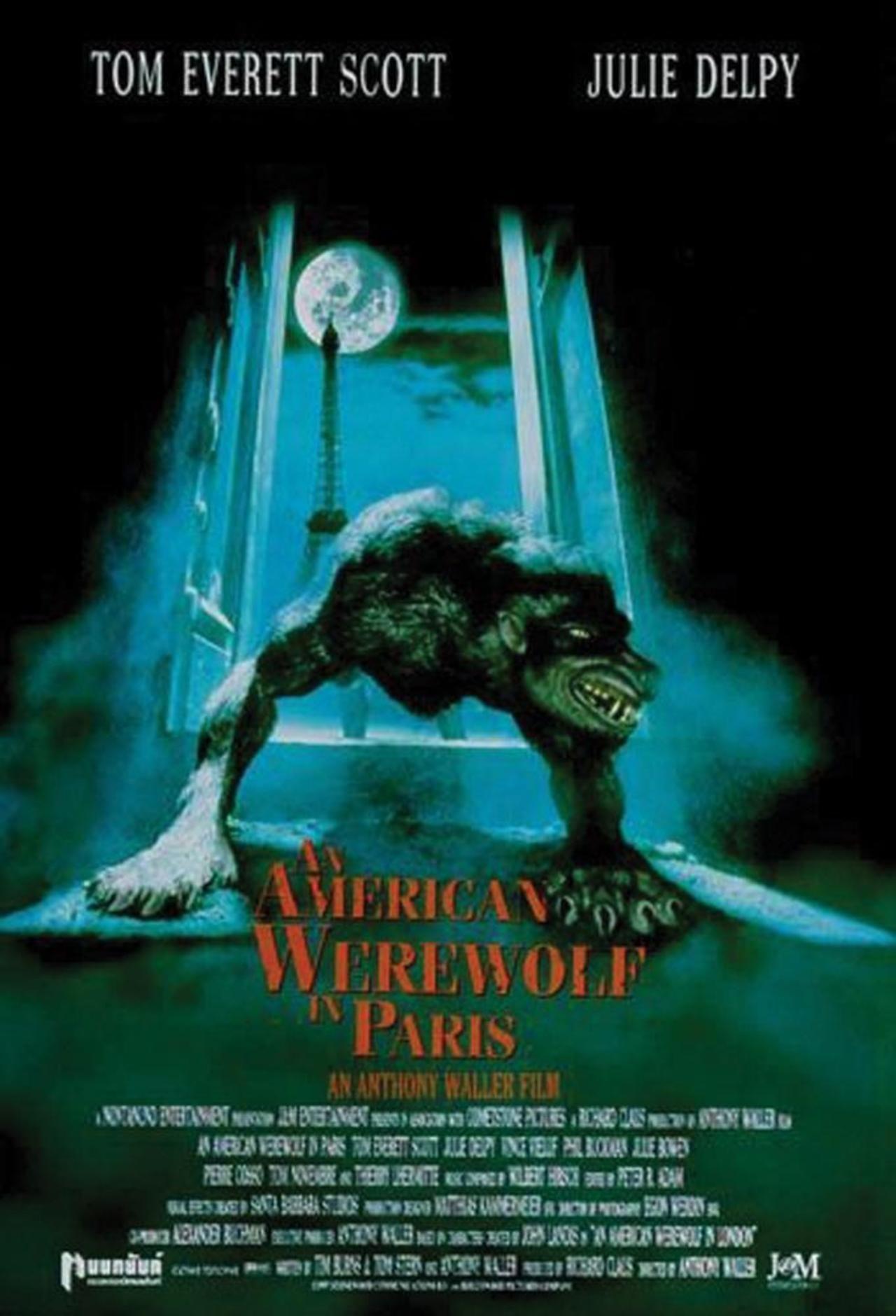 An American Werewolf In Paris American Werewolf In Paris 1997 Werewolf Paris Movie Julie Delpy