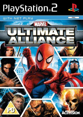 Marvel Ultimate Alliance Ps2 Amazon Co Uk Pc Video Games