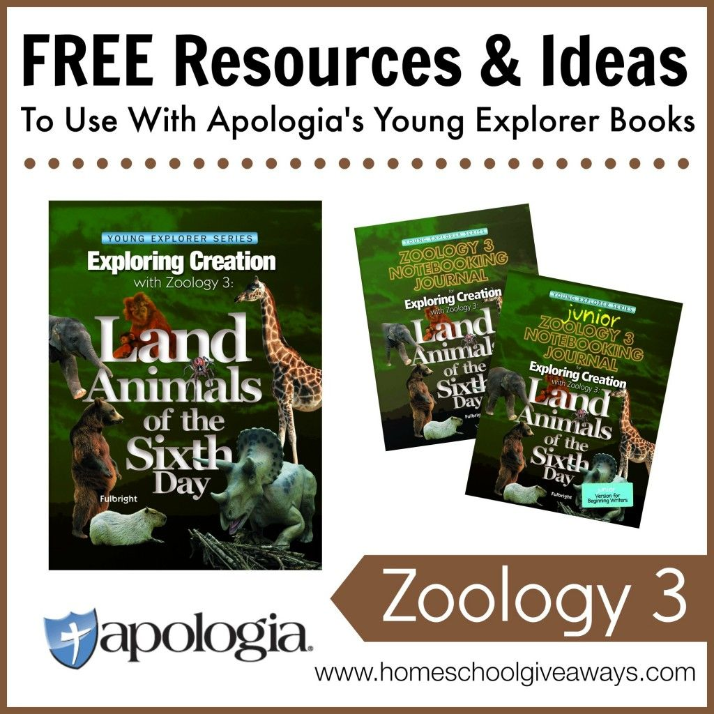 Free Resources Amp Ideas To Use With Apologia S Exploring