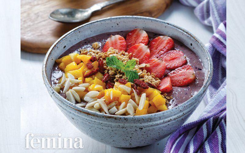 Berry Booster Makanan Sehat Resep Diet Makanan