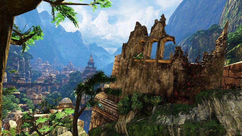 Shambhala From Uncharted 2 Among Thieves 36 Beautiful Landscapes That Prove That Video Games Are Art Idei Ozeleneniya Ozera Bogini