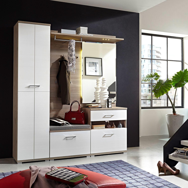 Garderobenset Puls I 3 Teilig Products Garderoben Set