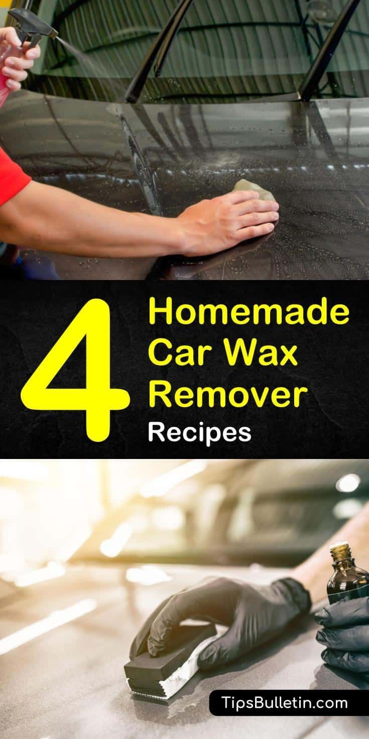 4 diy car wax remover recipes house cleaning tips