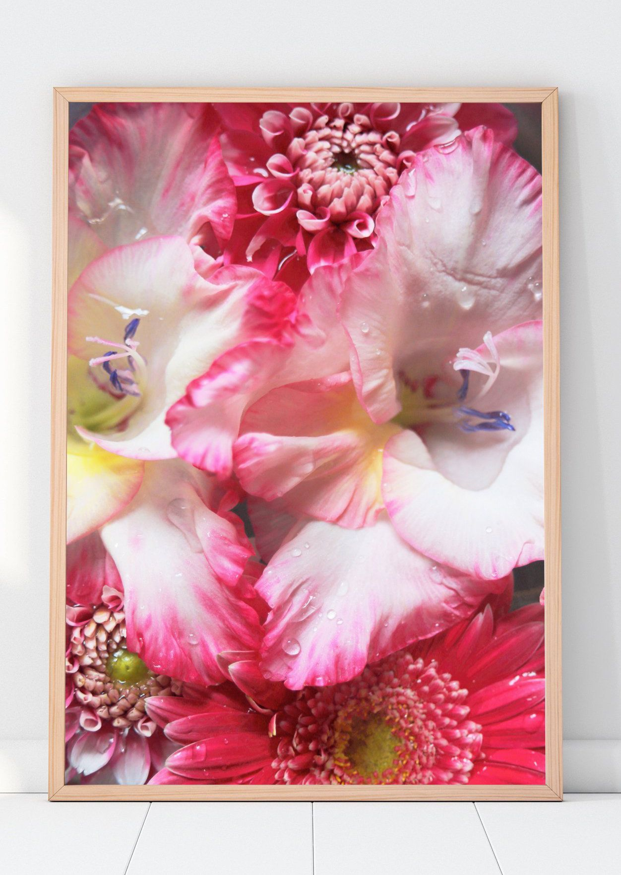 Watercolour Gladiolus White Yellow Pink Purple Orange Etsy Watercolor Flowers Gladiolus Tattoo Gladiolus Flower Tattoos