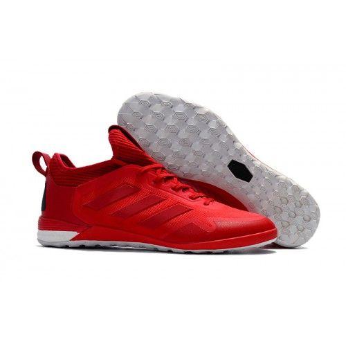 new concept e6afd ac48f Adidas ACE Tango 17+ Purecontrol IC Fotbollsskor Röd Vit