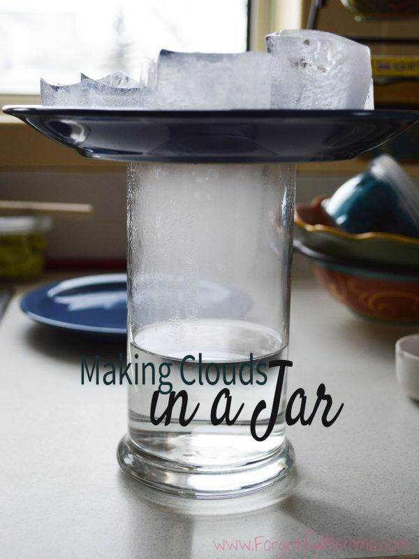 Making Rain in a Jar Science Experiment - Forgetful Momma