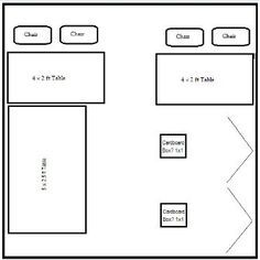 10x10 Craft Booth Layout Ideas Google Search Convention