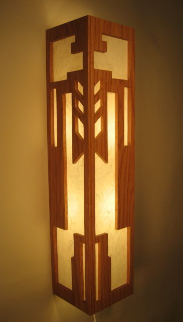 Frank Lloyd Wright Woodworking Plans Furniture Lighting Designs
