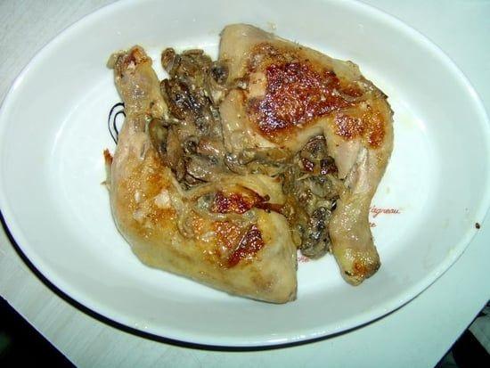 Recette de Cuisse de poulet façon campagnarde : la recette facile