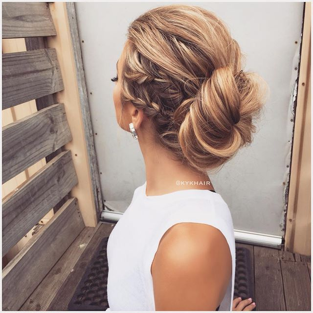 Pinterest Positividy Hair Styles Low Bun Hairstyles Medium Hair Styles