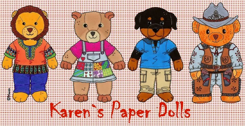 Karen`s Paper Dolls: Cato