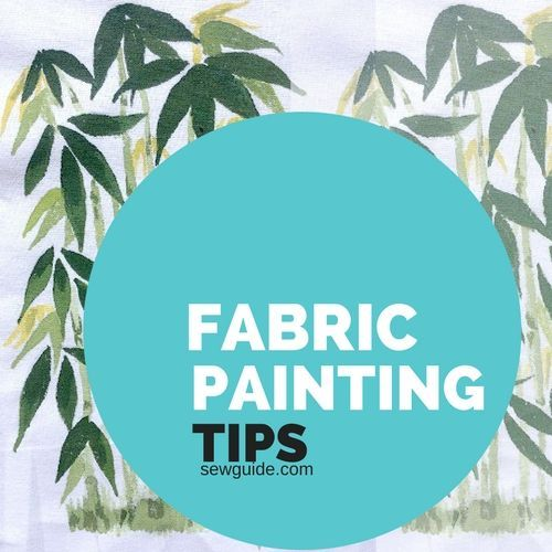 How to { PAINT FABRIC }- Top tips for best results - Sew Guide