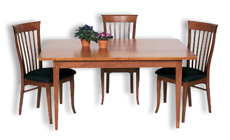 Shaker Taper Leg Table With Images Dining Table Dining