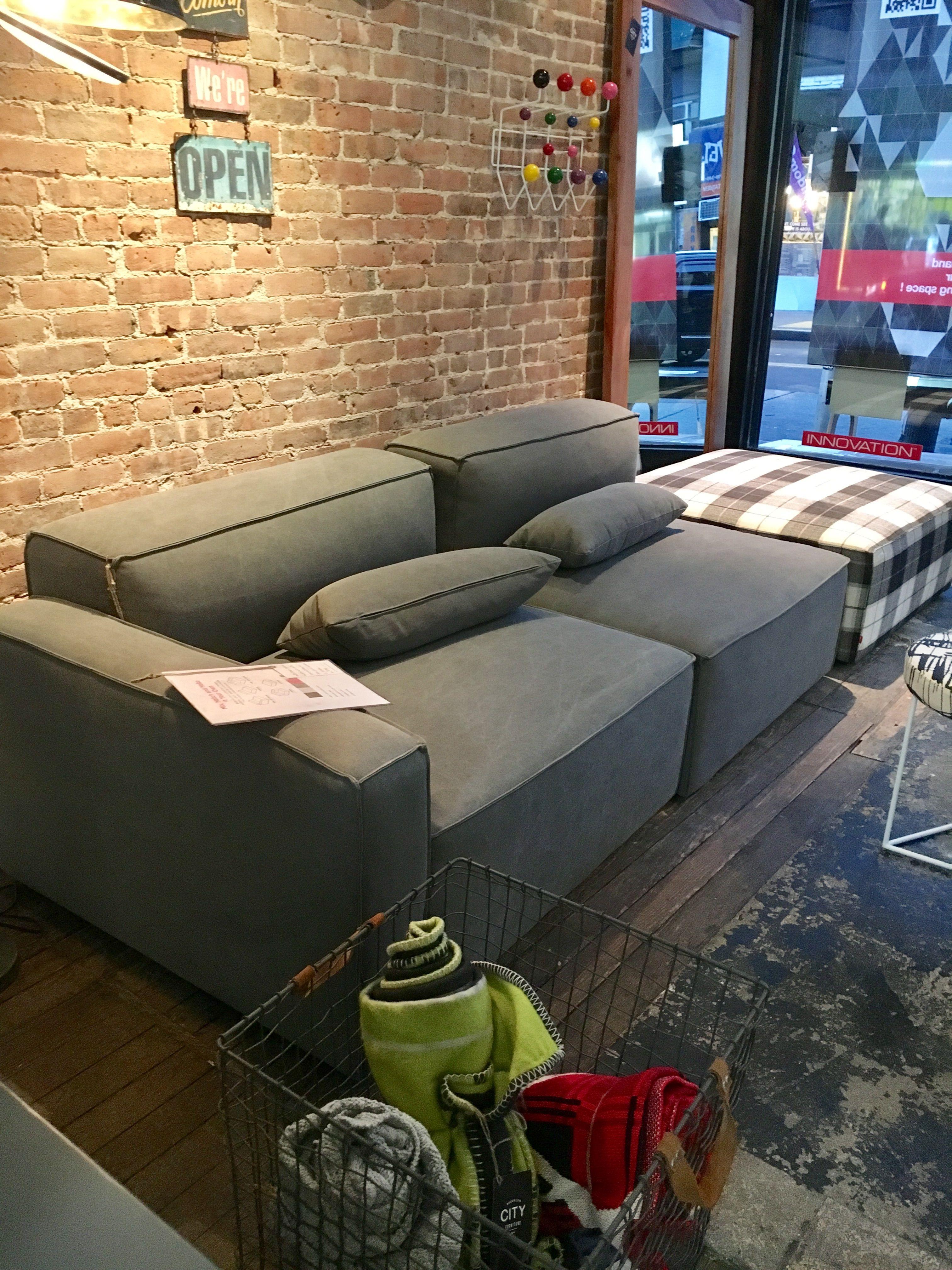Mix Modular Sofa And Ottoman By Gus Modern Modular Sofa Sofa City Furniture