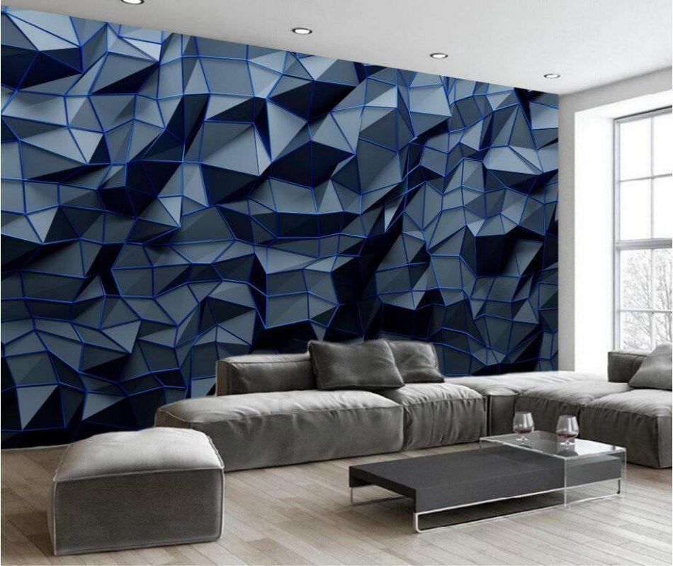 7 Gambar Wallpaper Keren Anti Monoton Untuk Rumahmu Desain Dinding Kamar Tidur Wallpaper Keren Rumah Wallpaper decor for living room
