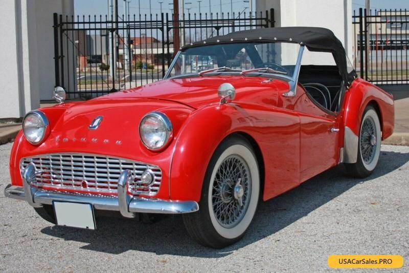 Car For Sale 1960 Triumph Tr3 Tr3a