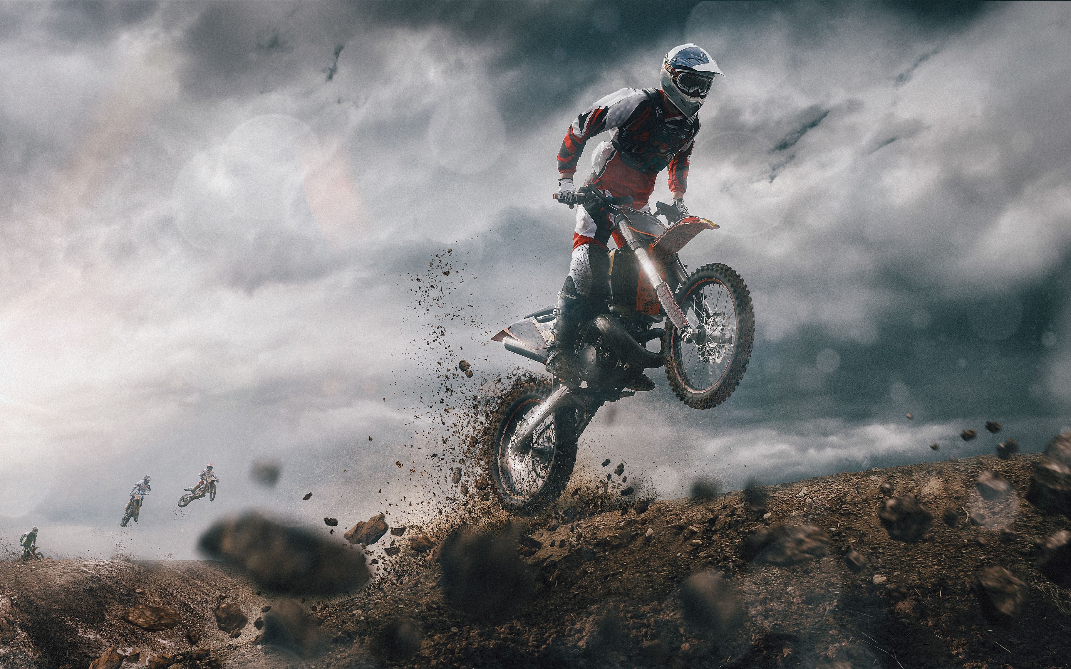 Motocross 4k With Images Motorcycle Wallpaper Motocross