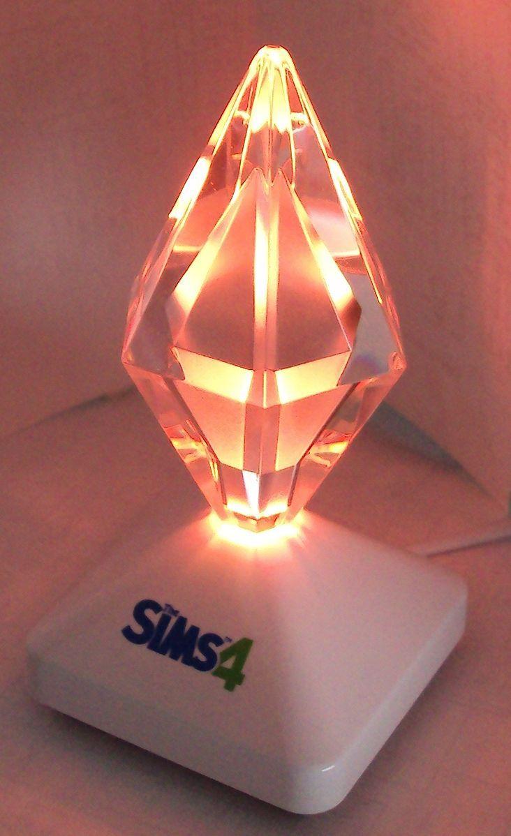 The Sims 4 Plumbob Lamp Lamp Edison Light Bulbs Novelty Lamp