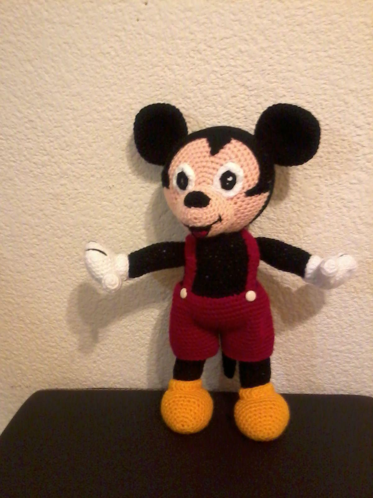 Patron Pareja Mimi Y Mickey Mouse Amigurumi Disney Amigurumis