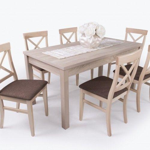 Adria garnitúra ( 6 db Adria szék + 1 db Berta asztal 160 cm-es ...
