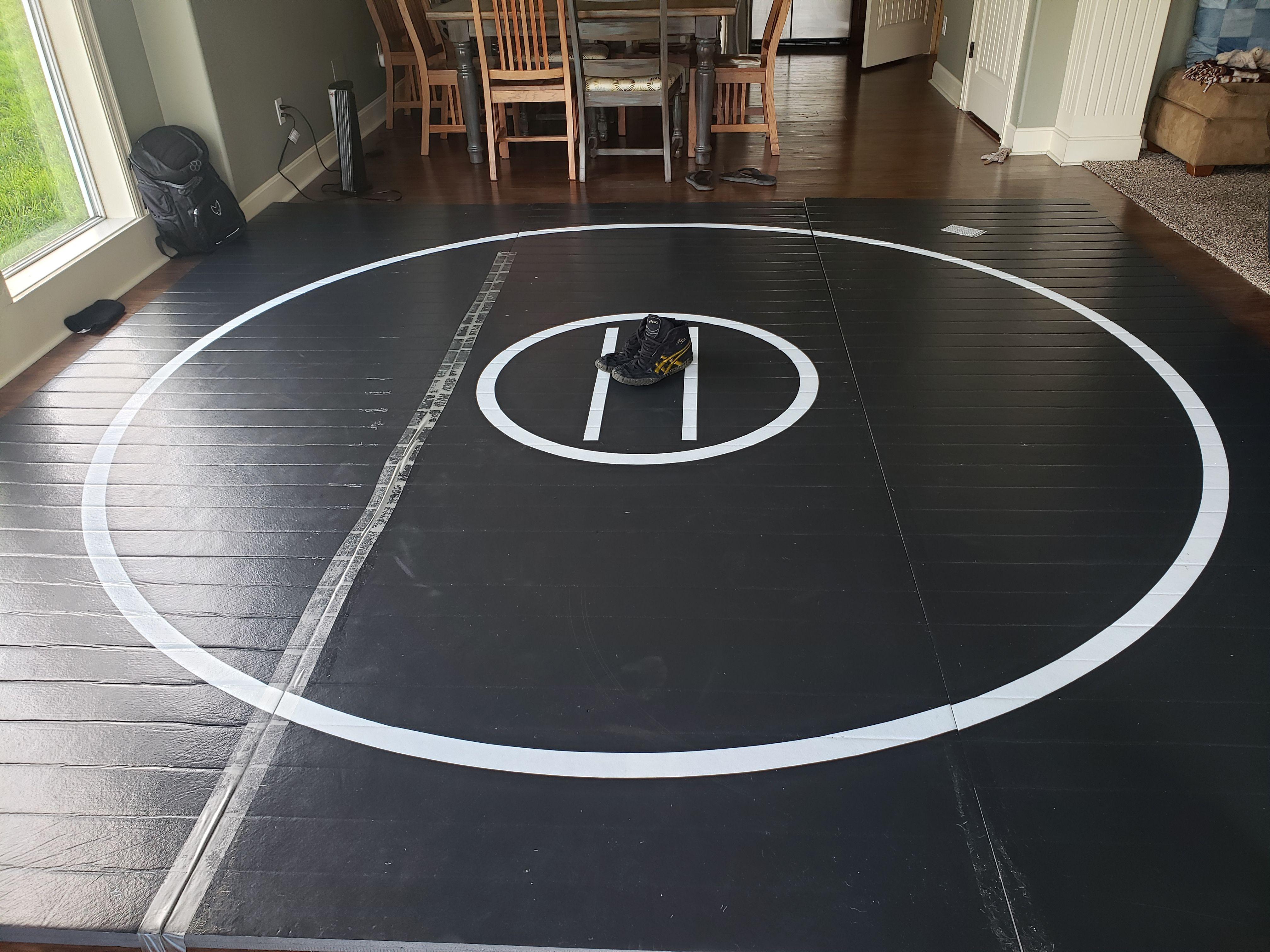 12 X 12 X 1 3 8 Roll Up Wrestling Mat In 2020 Wrestling Mat Wrestling Home