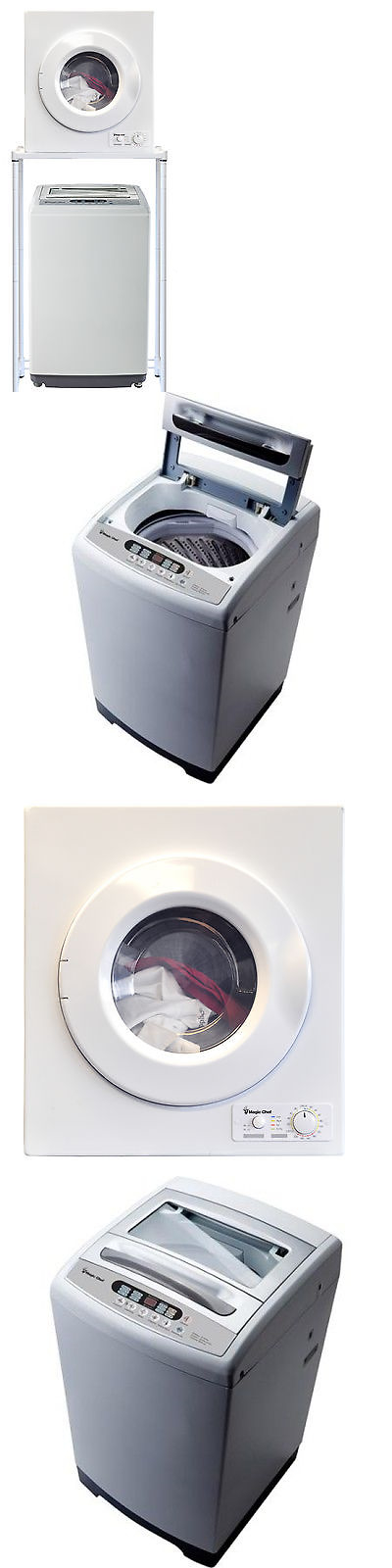 Washing Machines 71256 Magic Chef 1 6 Cu Ft Compact Portable Washer Dryer Combo Set 120 With Images Portable Washer And Dryer Washer Dryer Combo Portable Washing Machine