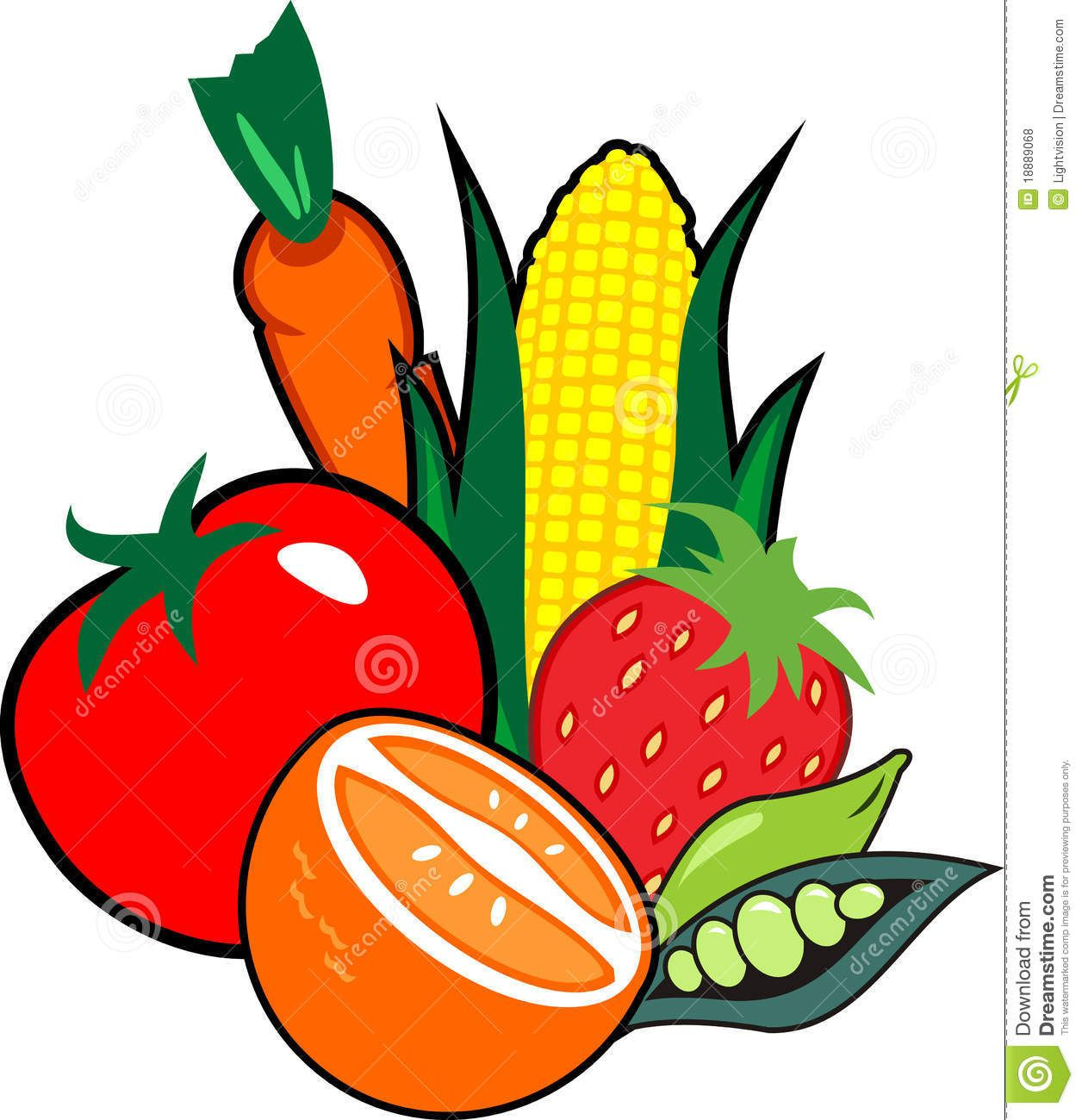 fruit border clip art use these free images for your websites art rh pinterest com fruit and veggie clipart fruit and vegetable clip art free