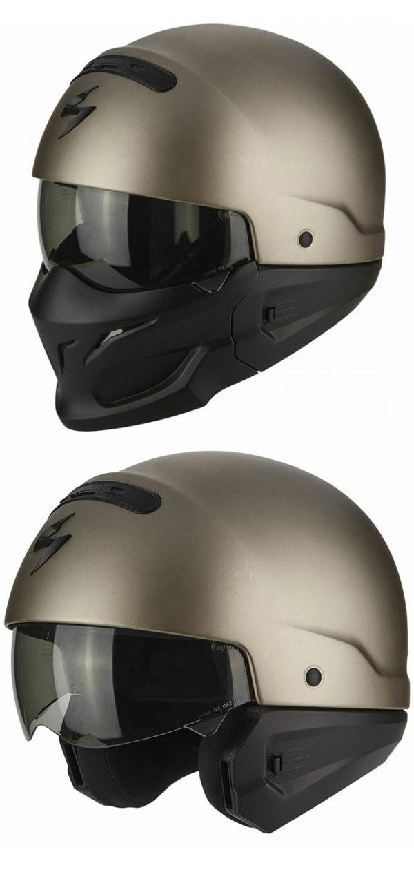 Scorpion Covert Ratnik 3-in-1 Mens Street Riding Cruising Motorcycle Helmets