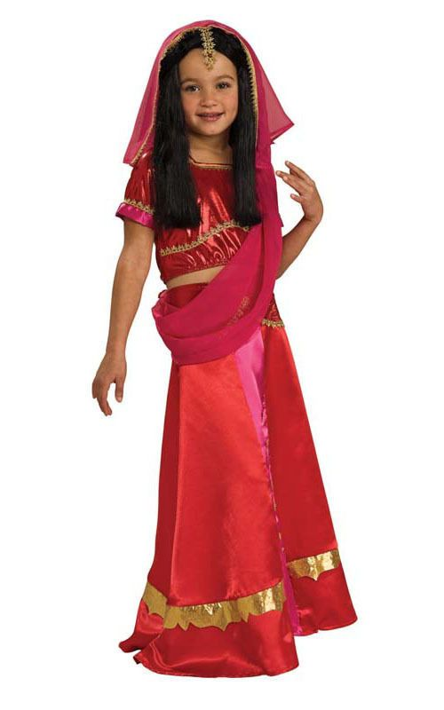 Bollywood princess book week child girls indian hindu sari