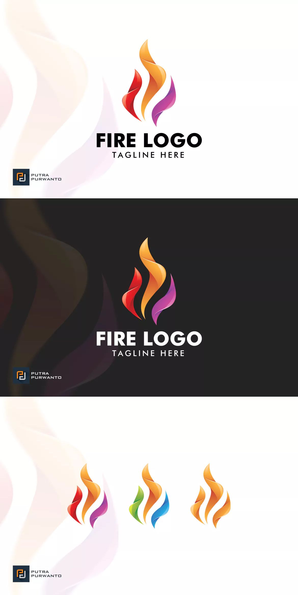 Fire Logo Template Ai Eps