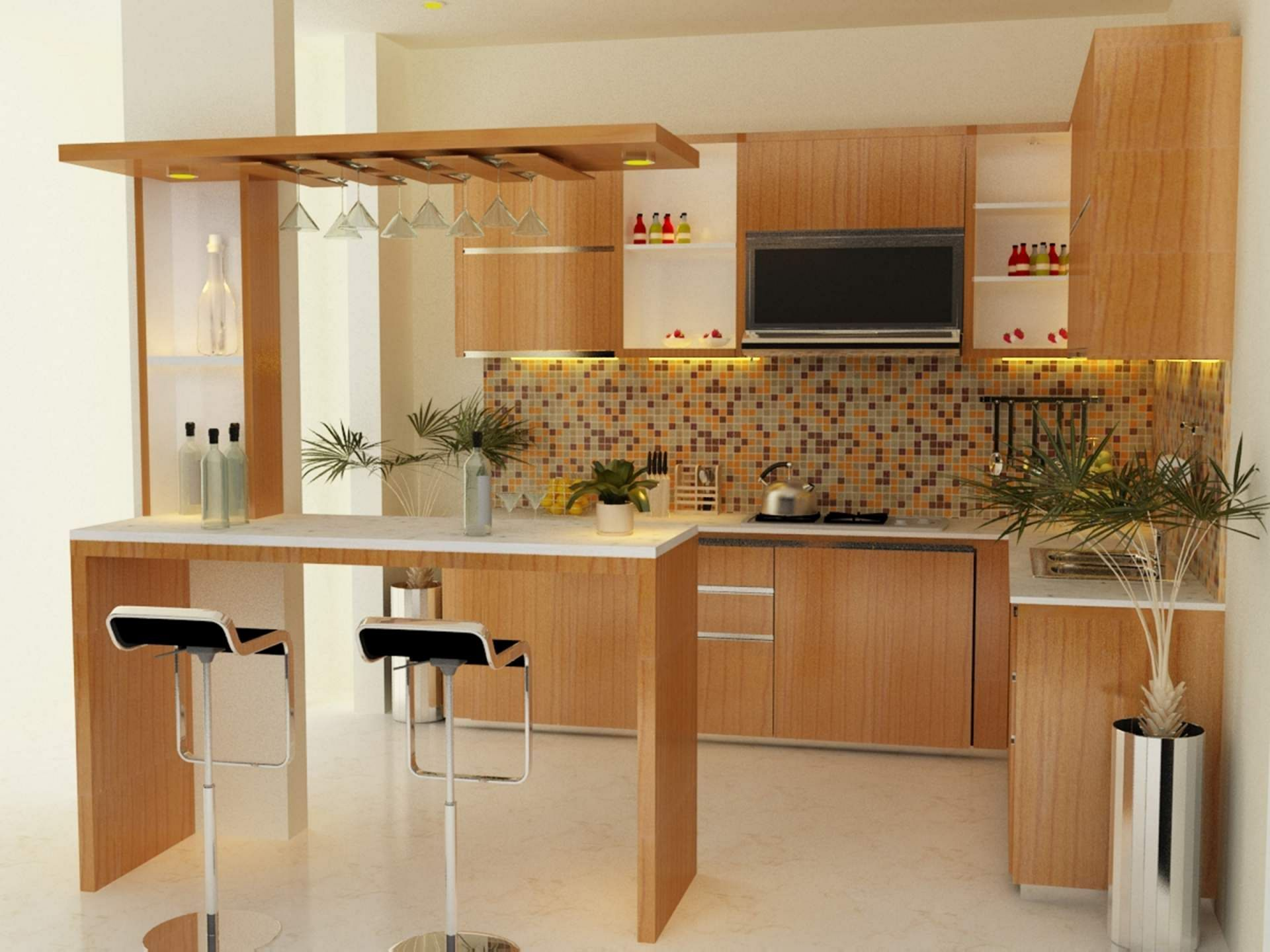 Pin De Home Apartment Design Decor En Kitchen Ideas Cocinas Pequenas Con Desayunador Diseno De Cocina Cocinas De Madera Pequenas