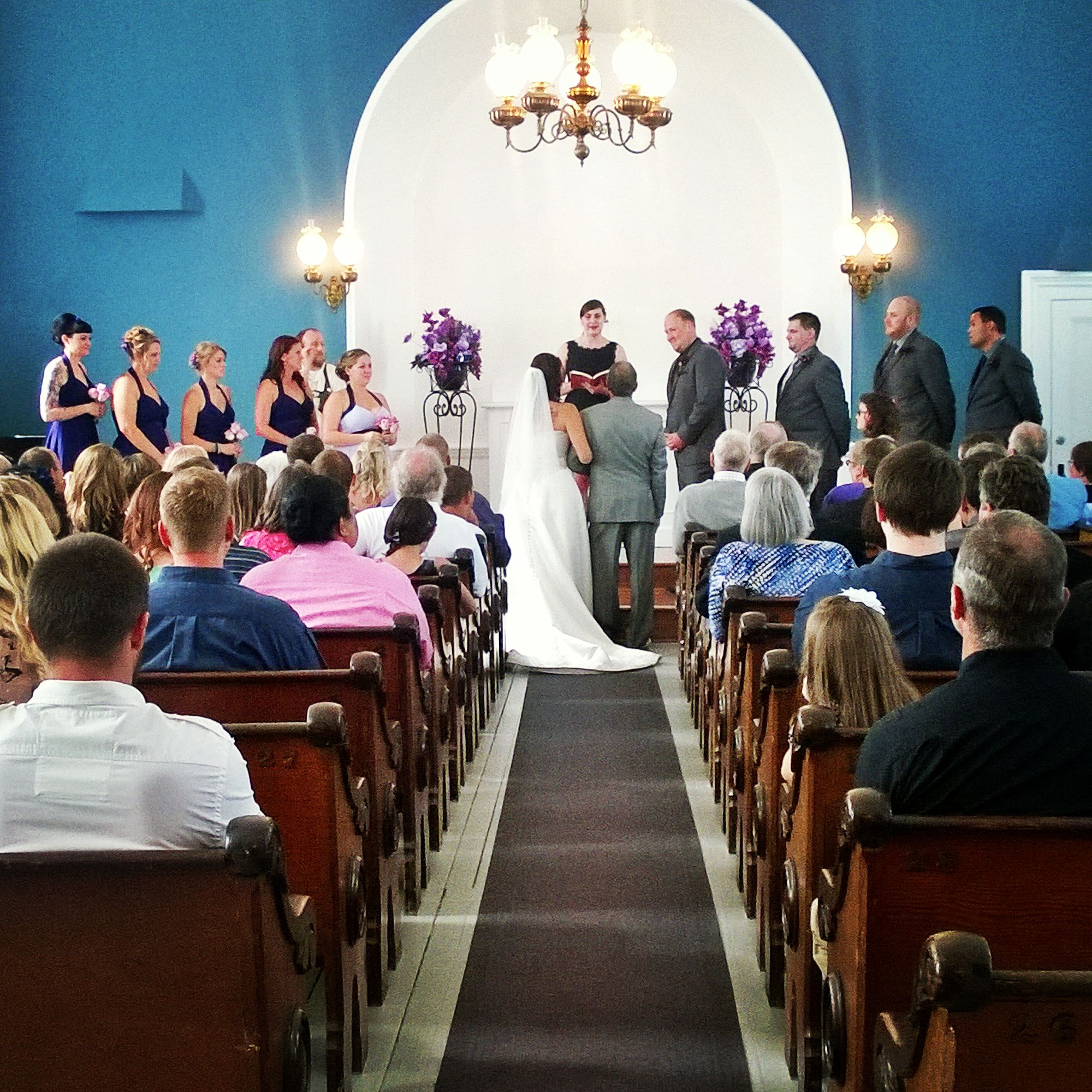 Congratulations to Mr. & Mrs. Hogue! The beautiful ...