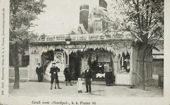 Der Prater Im 19 Jahrhundert Wien Reisen Alte Fotografien