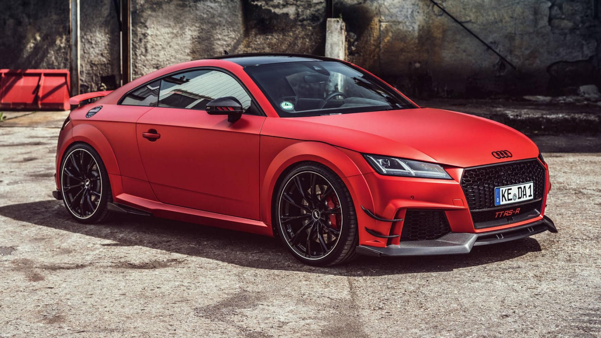 Abt Pumps New Audi Tt Rs Up To 453 Hp
