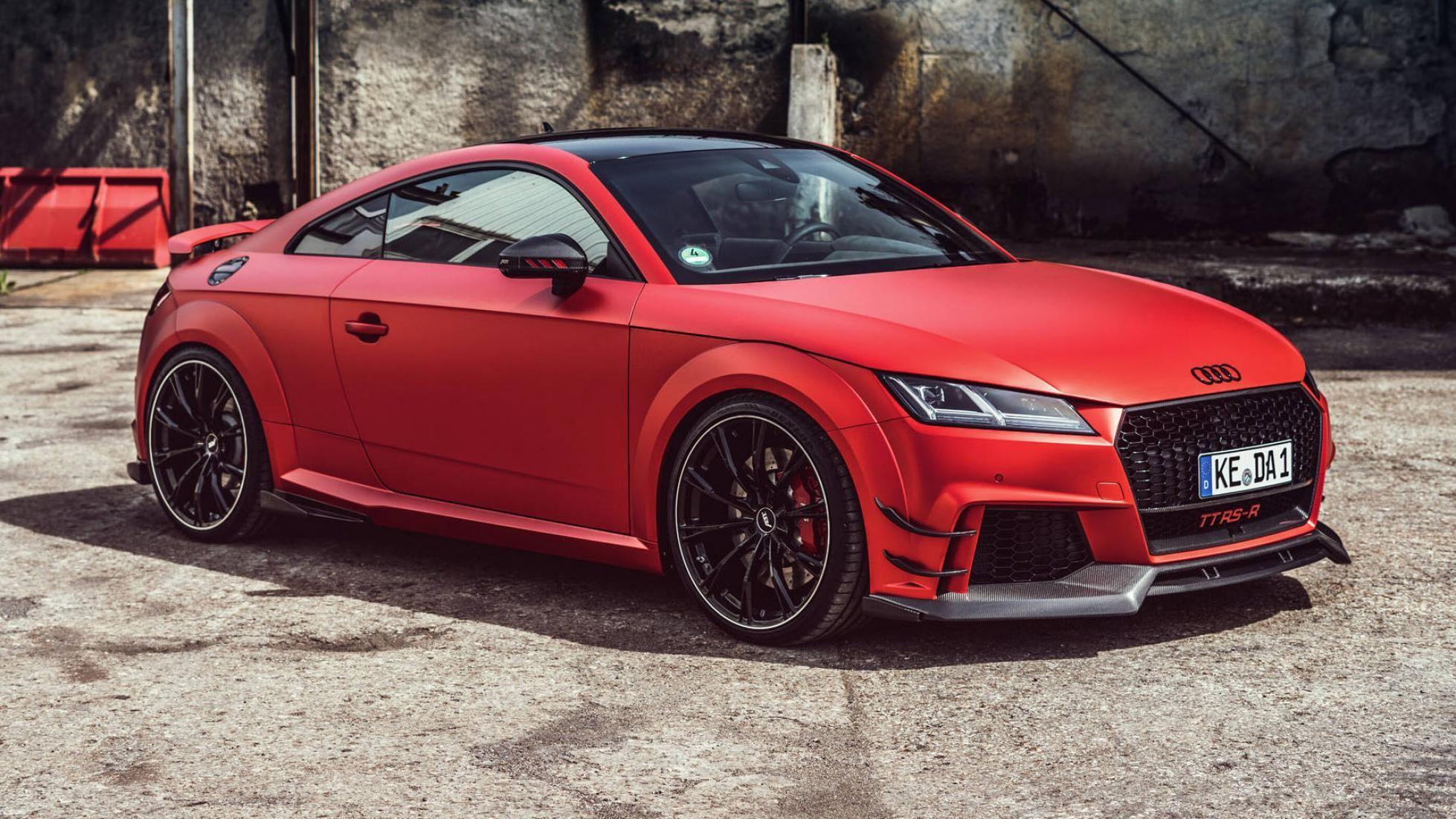 Abt Pumps New Audi Tt Rs Up To 453 Hp 338 Kw Audi Tt Rs Audi Tt Audi