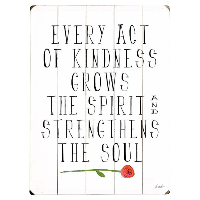Kindness Wall Decor | Things I love | Pinterest | Truths ...