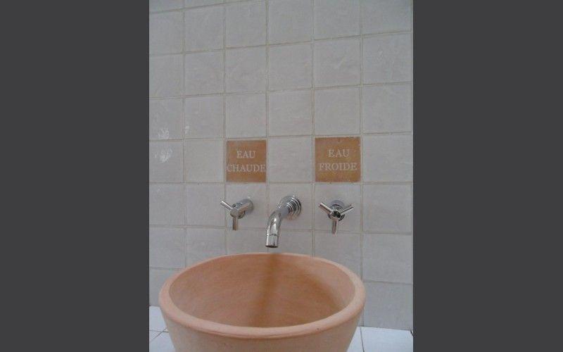 Vasque A Poser En Terre Cuite Avec Images Vasque A Poser Terre Cuite Vasque