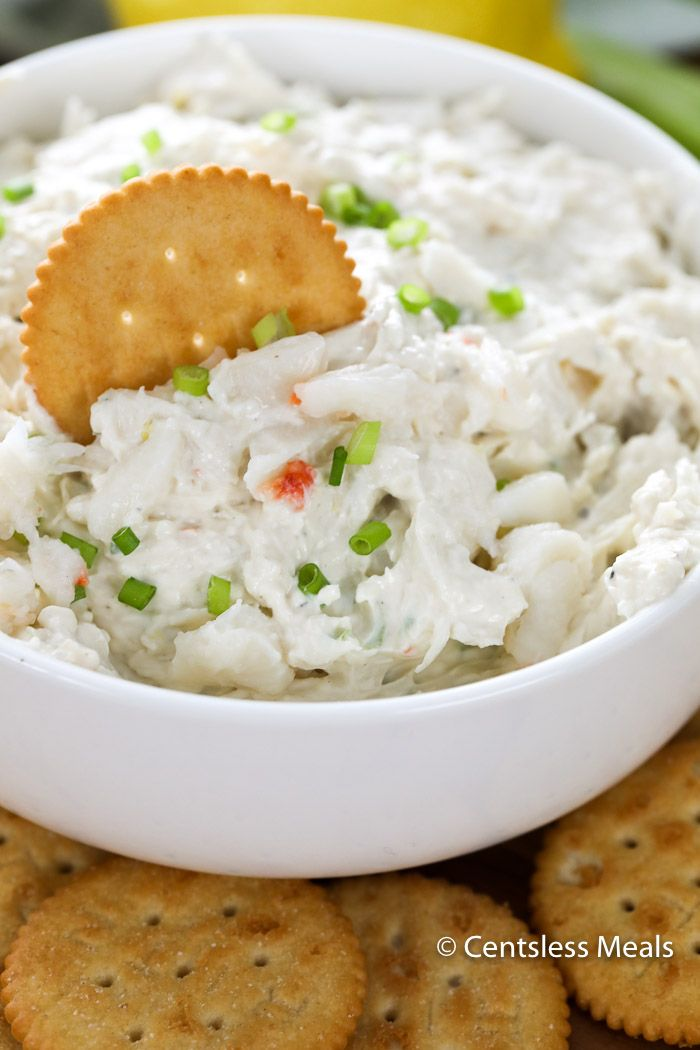 Jump to Recipe Print RecipeCrab Dip is a party appetizer like no other. Tender crab meat is folded into a creamy whipped combination of mayonnaise, cream cheese, and lemon. We top this with some fresh chives for color and serve it alongside our favorite dippers! Crab dip, crab rangoon dip, cold crab dip – call … #crabrangoondip