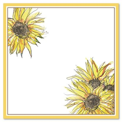Cool Free Printable Sunflower Baby Shower Invitation Template