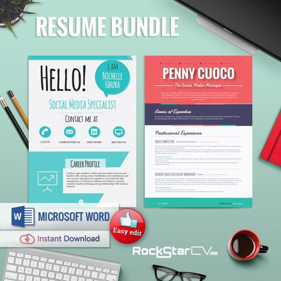 Delightful Creative Resume Templates @creativework247
