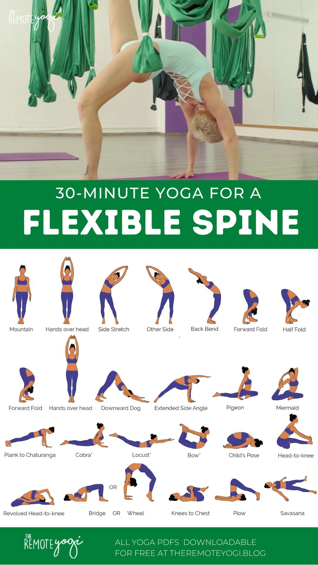Yoga Flow for a Bendy Spine – FREE PDF