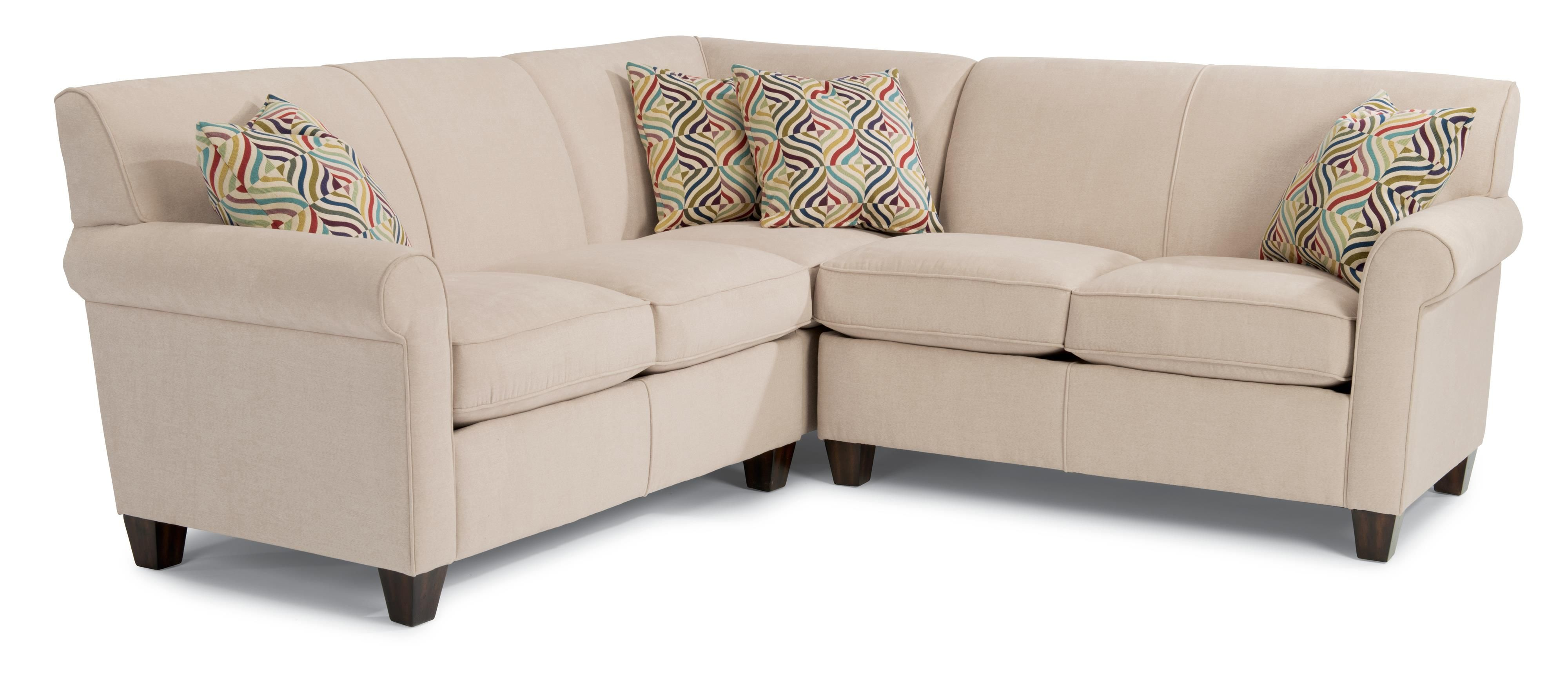 Put where recliner is Dana 3 Pc Corner Sectional Sofa by Flexsteel