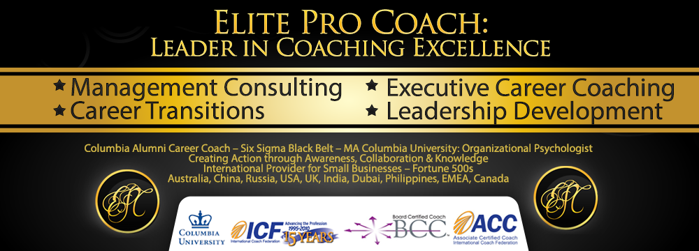 Elite Pro Coach Banner Leadership Coaching Career Coach Leadership Development