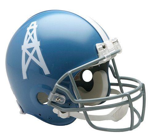 Houston Oilers Throwback 1960-1963 Riddell Authentic Pro Line Helmet