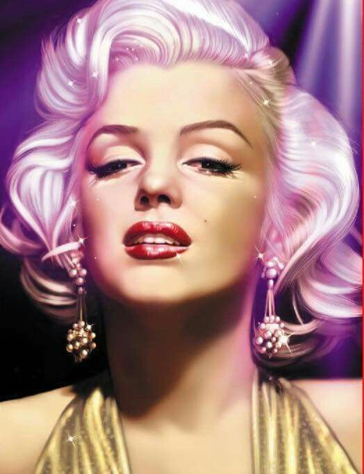 Marilyn Monroe Colour Splash Poster Prints Wall Decoration Art Pictures Pinup