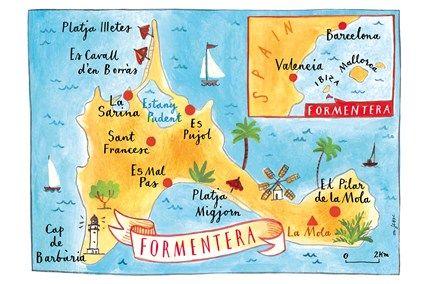 Funky Formentera Balearic islands Ibiza and Boating