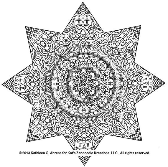intricate coloring pages pdf intricate mandala coloring pages dont eat the paste - Intricate Mandalas Coloring Pages