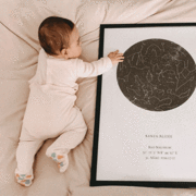 Sternenkarte Zusammenfassung Himmlische Planisph/äre Wandkunst Leinwand Malerei Nordic Poster und Druck Home Decoration Bild f/ür Wohnzimmer 50x80cm ohne Rahmen