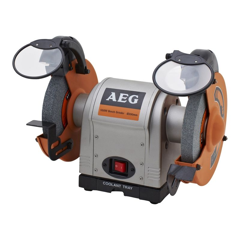Remarkable Aeg 550W 200Mm Bench Grinder In 2019 My Wish List Bench Gmtry Best Dining Table And Chair Ideas Images Gmtryco